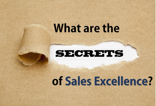 What are the secrets of sales excellence ?