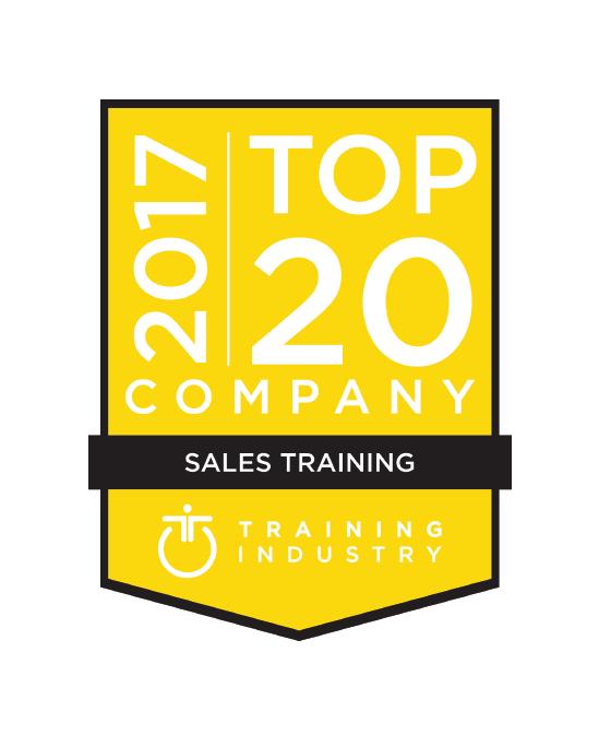 Mercuri International awarded Top 20 Sales Training Company 2017